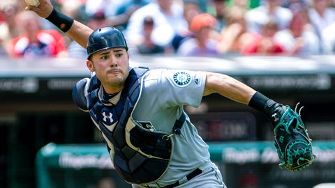 Jesus Montero, Mariners catcher/DH