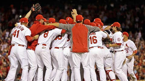 St Louis Cardinals Clinch