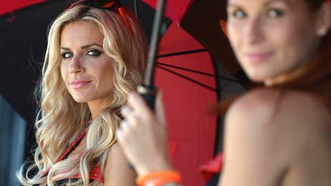 MotoGP Umbrella Girls
