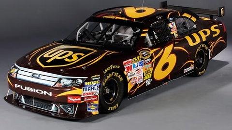 No. 6 UPS Ford