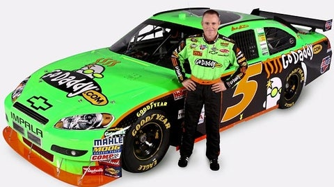 No. 5 GoDaddy.com Chevrolet