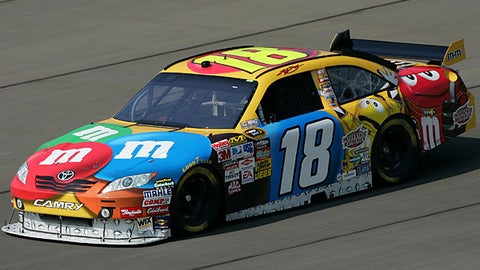 No. 18 M&M's Toyota