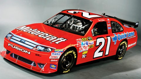 No. 21 Motorcraft/Quicklane Ford