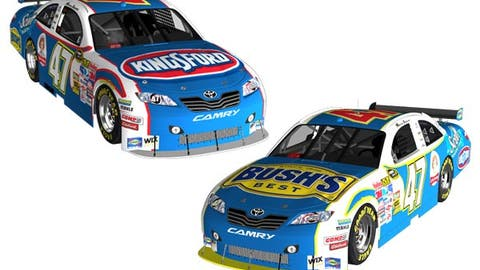 No. 47 Kingsford/Clorox/Little Debbie/Kleenex/Bush's Toyota