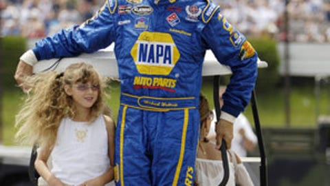 Michael Waltrip and Macy
