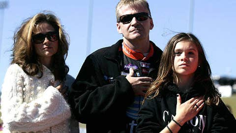 Jeff Burton and Paige