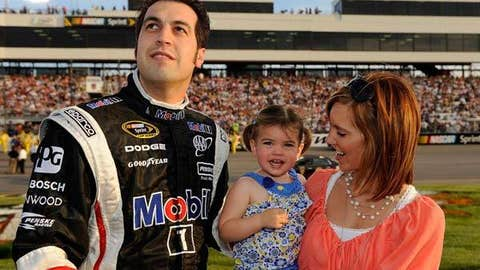 Sam Hornish Jr. and Addison