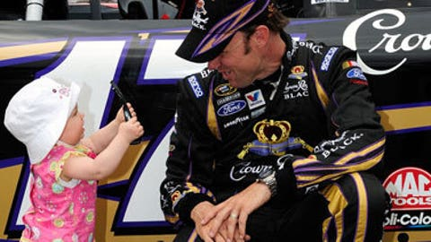Matt Kenseth and Kaylin