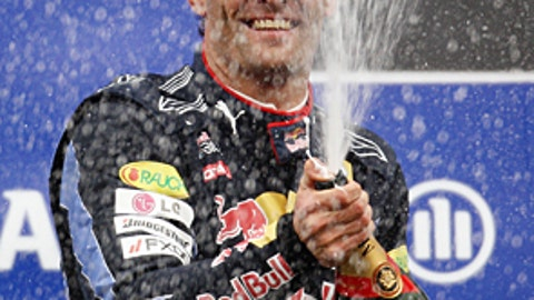 Mark Webber, four wins