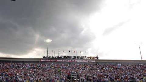 Clouds looming