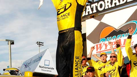 Sam Hornish Jr., one win