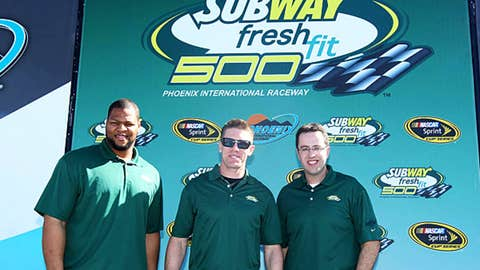 Ndamukong Suh and Jared Fogle