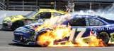 NASCAR action at Indy