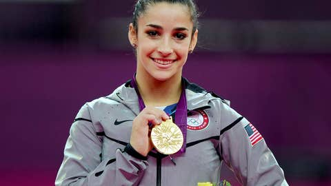 Aly Raisman, gold medal gymnast