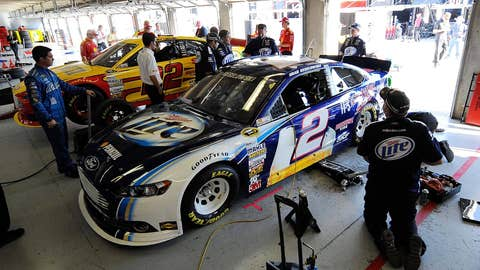 Joey Logano/Brad Keselowski -- 25 points, $100,000 fines and six-week suspensions for crew chiefs
