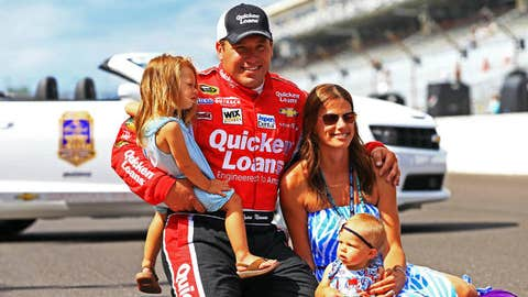 Ryan Newman and wife, Krissie