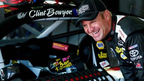 Clint grins at Pocono