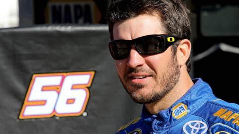 Truex on the move