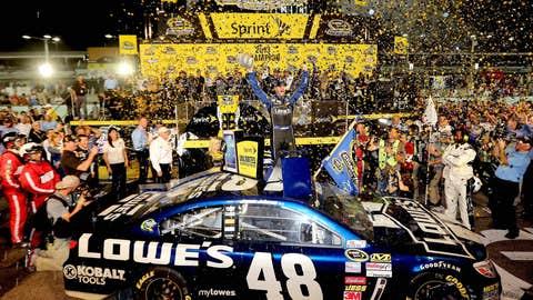 JJ celebrates