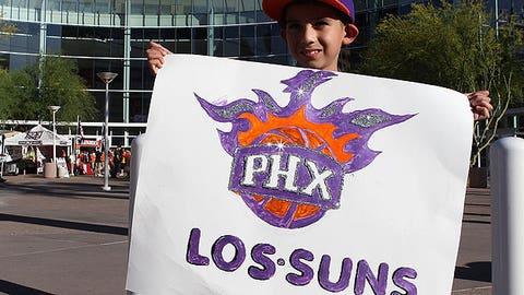Phoenix Suns fan