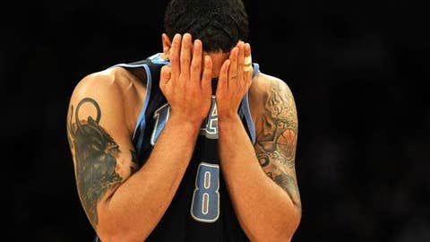 Is Deron Williams getting frustrated?