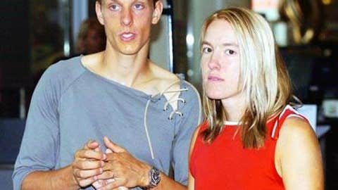 Pierre-Yves Hardenne and Justine Henin
