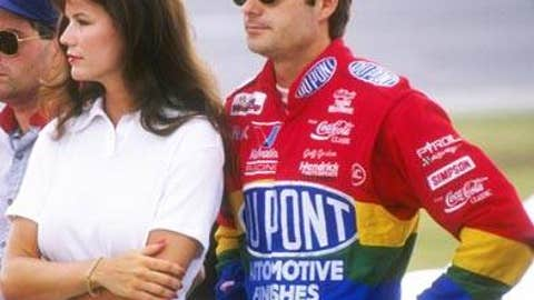Jeff Gordon and Brooke Sealey