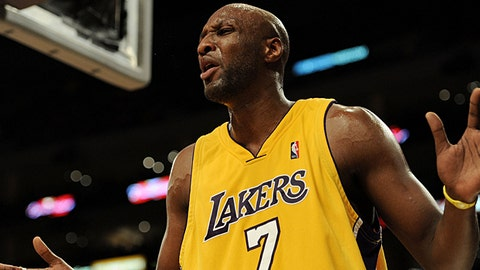 Lamar Odom, Los Angeles Lakers (Getty Images)