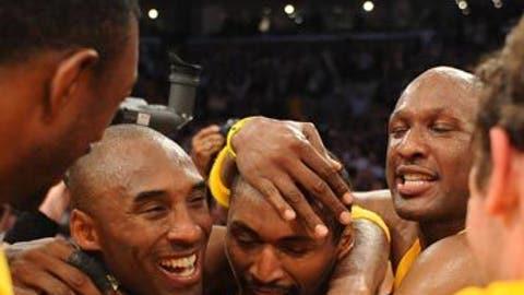 New Lakers hero