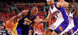 Action from Lakers-Suns Game 6