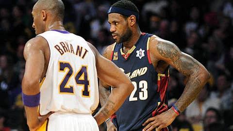 2009: Cavaliers 102, Lakers 87