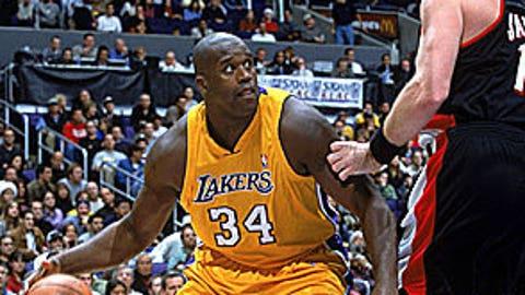 2000: Blazers 109, Lakers 104