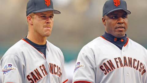 Jeff Kent vs. Barry Bonds