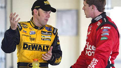 Matt Kenseth vs. Carl Edwards