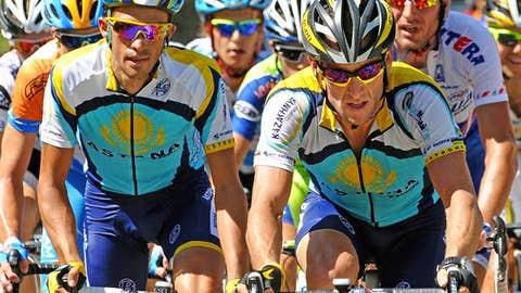 Lance Armstrong vs. Alberto Contador