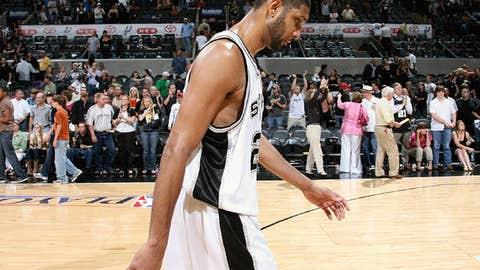 Tim Duncan, San Antonio Spurs