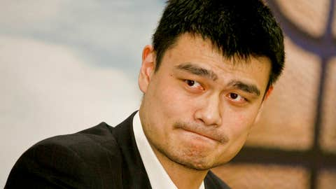 West center: Yao Ming, Rockets