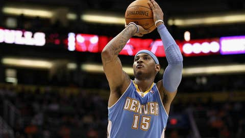 West forward: Carmelo Anthony, Nuggets