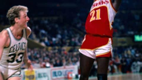 Dominique Wilkins vs. Larry Bird, Game 7 of 1988 East semis