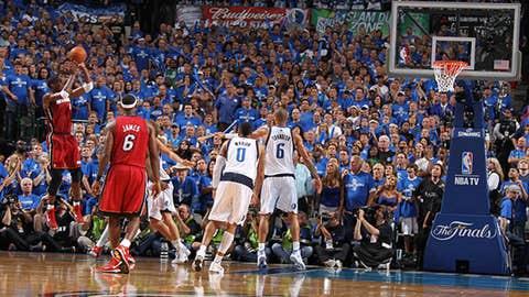 NBA Finals: Bosh's big shot
