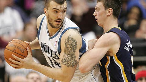Minnesota: Nikola Pekovic (two years, $9M)