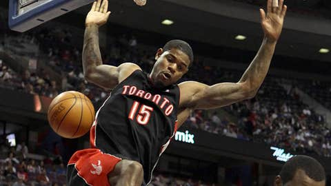 Toronto: Amir Johnson (four years, $25M)