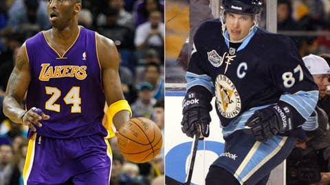 Kobe and Sidney travel the same road ...