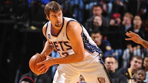 New Jersey: Mehmet Okur (one year, $10.9M)