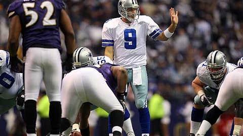 Tony Romo, QB, Cowboys (back)