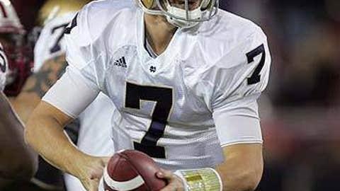 Jimmy Clausen, Quarterback