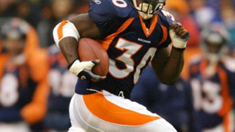 1995: Terrell Davis (RB, Georgia) by Denver Broncos (Rd. 6, pick 196)
