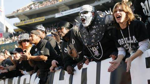 Raiders - Oakland-Alameda County Coliseum