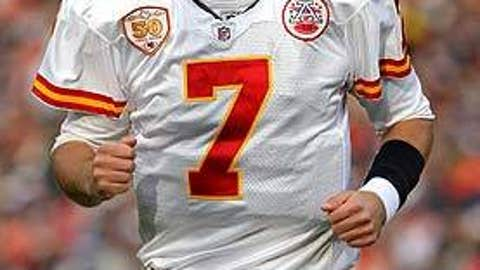 Matt Cassel, Kansas City