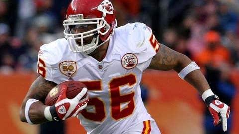 LB Derrick Johnson, Chiefs: 12 years